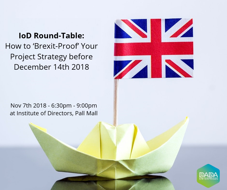 Brexit – The Great British Project Management Challenge By Dec 14th 2018
