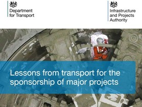 Lessons From Transport For The Sponsorship Of Major Projects